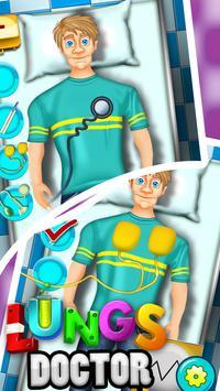 Lungs Doctor - Kids Fun Game apk screenshot