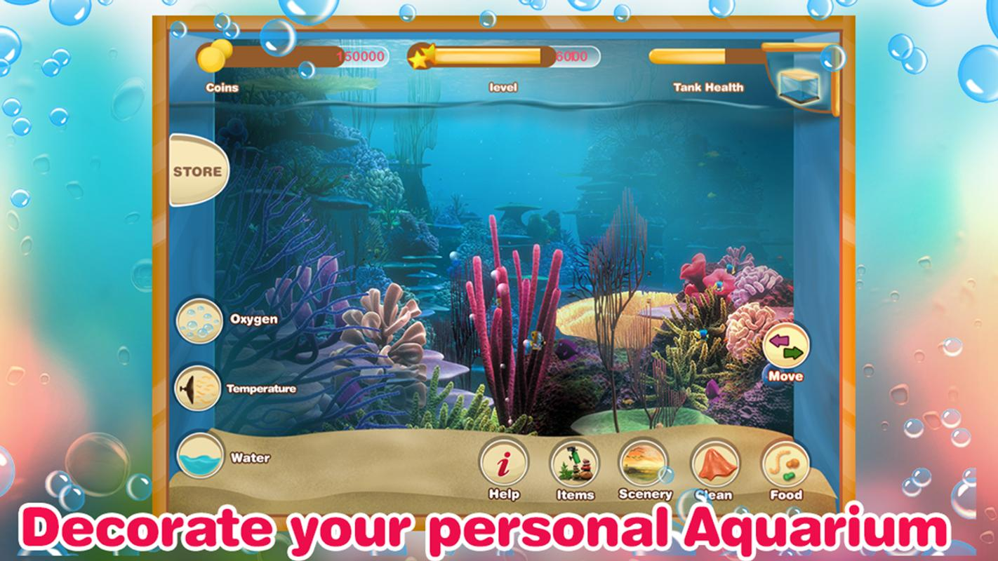 Fish tank management game apk download free casual game for Fish tank app