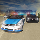 Police Car Chase Escape Racer - NY City Mission icon