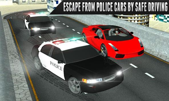 Police Car Chase Escape Racer - NY City Mission poster