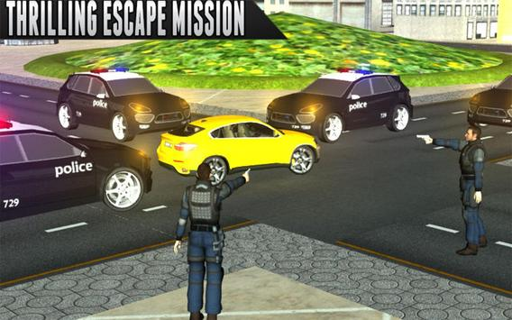 Police Car Chase Escape Racer - NY City Mission apk screenshot