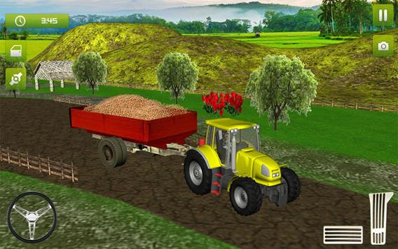 10 Schermata Real Farming Tractor Trolley Simulator; Game 2019