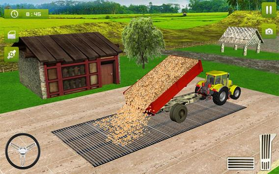11 Schermata Real Farming Tractor Trolley Simulator; Game 2019