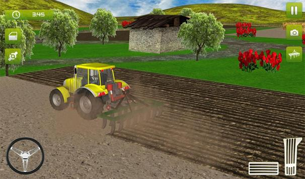 12 Schermata Real Farming Tractor Trolley Simulator; Game 2019