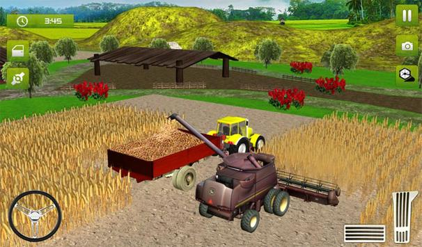 15 Schermata Real Farming Tractor Trolley Simulator; Game 2019