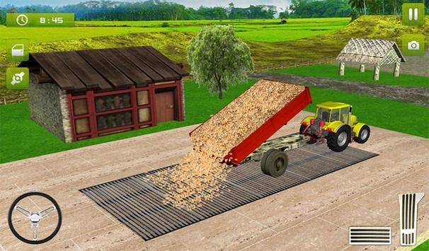 17 Schermata Real Farming Tractor Trolley Simulator; Game 2019
