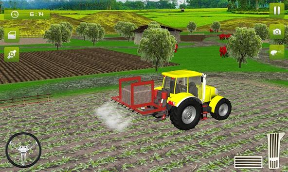 2 Schermata Real Farming Tractor Trolley Simulator; Game 2019