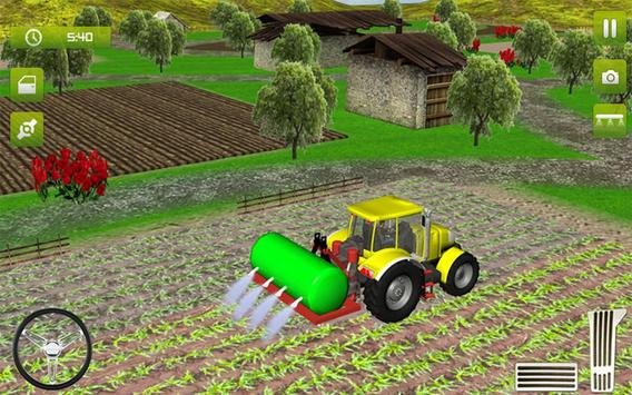 7 Schermata Real Farming Tractor Trolley Simulator; Game 2019