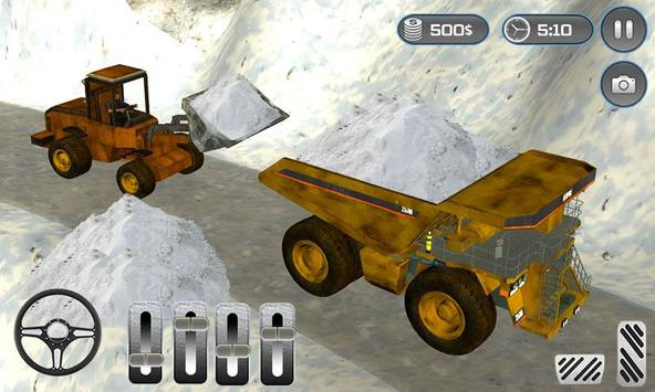 Snow Plow Rescue Truck Loader poster