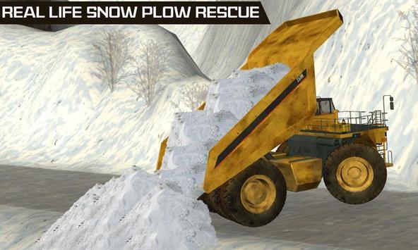 Snow Plow Rescue Truck Loader apk screenshot
