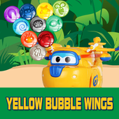 Yellow Bubble Wings icon