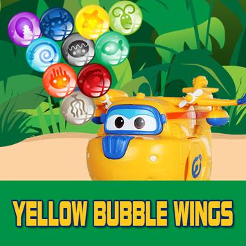 Yellow Bubble Wings poster