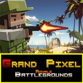 ikon Grand Pixel Royale Battlegrounds Mobile Battle 3D