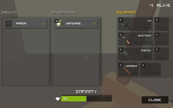 Grand Pixel Royale Battlegrounds Mobile Battle 3D screenshot 6
