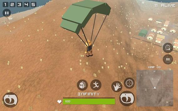 Grand Pixel Royale Battlegrounds Mobile Battle 3D screenshot 9