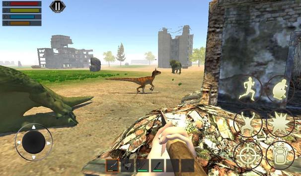 Dino Craft Survival Jurassic Dinosaur Island تصوير الشاشة 10