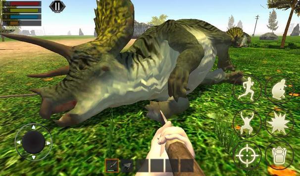 Dino Craft Survival Jurassic Dinosaur Island تصوير الشاشة 1