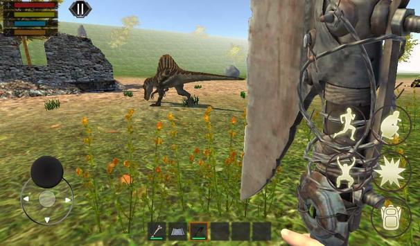 Dino Craft Survival Jurassic Dinosaur Island تصوير الشاشة 4