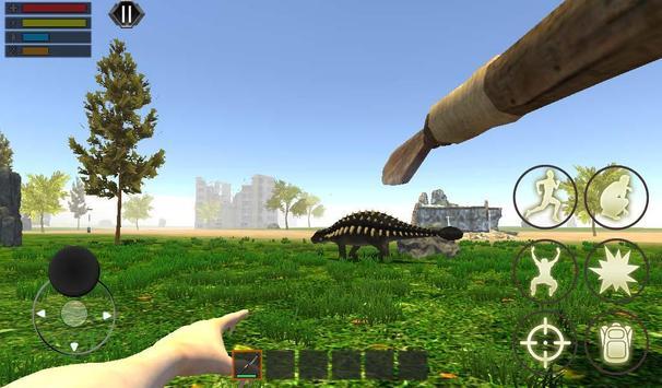 Dino Craft Survival Jurassic Dinosaur Island تصوير الشاشة 5