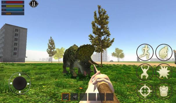Dino Craft Survival Jurassic Dinosaur Island تصوير الشاشة 6