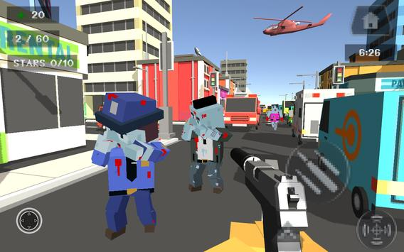 Pixel Smashy War - Gun Craft apk screenshot