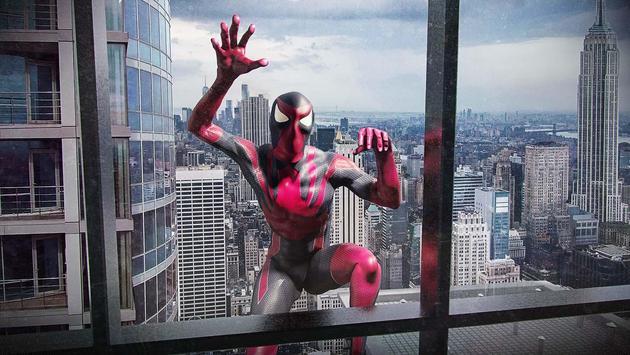 Amazing Strange Rope Police - Vice Spider Vegas captura de pantalla 11