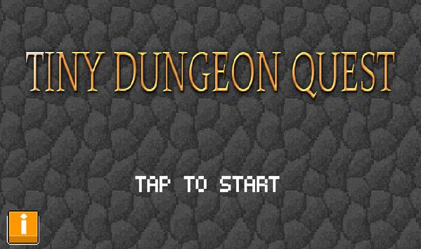 tiny dungeon quest poster