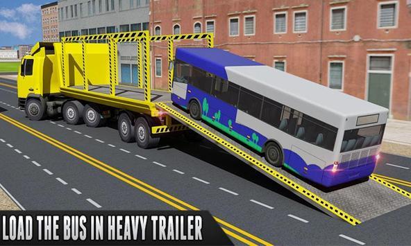 Bus Transporter Truck Flight poster