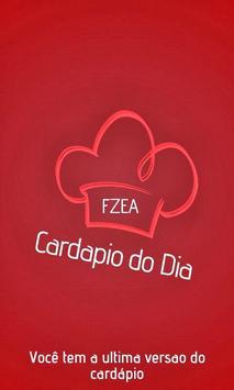 Cardápio do Dia - FZEA poster