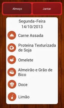 Cardápio do Dia - FZEA screenshot 1