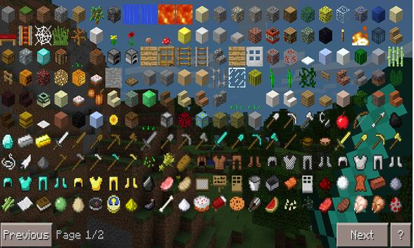Mod Too Many Items for MCPE تصوير الشاشة 2