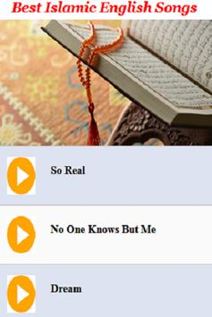 Best Islamic English Songs poster