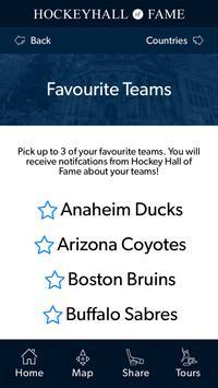 Hockey Hall of Fame Tour App apk screenshot