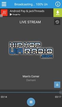 Hip Hop UIA Radio screenshot 1