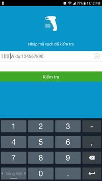 Barcode Việt Xuất xứ hàng hóa apk screenshot