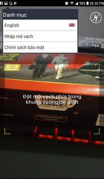 Barcode Việt Xuất xứ hàng hóa screenshot 1