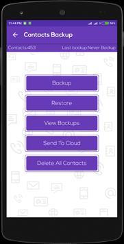 Fast Backup: Contact & SMS apk screenshot