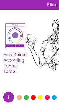 Fashion Coloring Book :: Adult Coloring Art Book screenshot 3