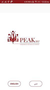 Peak 2017 poster