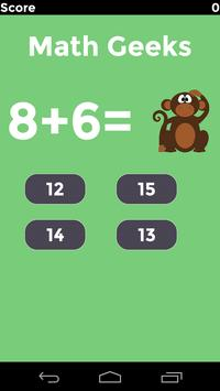 Math Geeks - A Brain Game screenshot 1