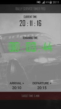 Rally Service Timer Pro screenshot 4