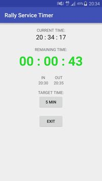 Rally Service Timer Pro screenshot 12
