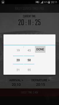 Rally Service Timer Pro screenshot 1