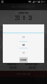 Rally Service Timer Pro screenshot 2
