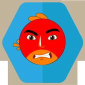angry adventure birds icon