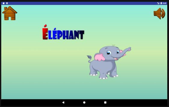 ABC, learn French for kids screenshot 9