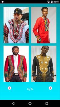 African Mens Fashion poster