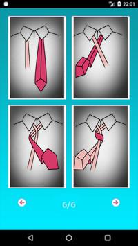 Learn How to Tie a Tie poster