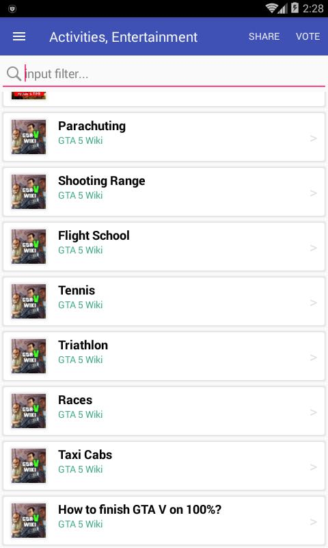 Wiki for GTA 5 Codes for Android - APK Download