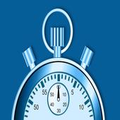 chronomètre géant; sport stopwatch;giant chrono icon